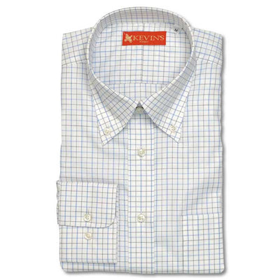 Kevin's Finest 100% Cotton Tattersall Shirt