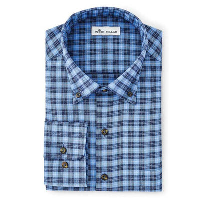 Peter Millar Hills Performance Cotton Touch Woven Shirt
