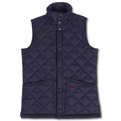 Barbour Boy's Liddesdale Gilet-CHILDRENS CLOTHING-S-Navy-Kevin's Fine Outdoor Gear & Apparel