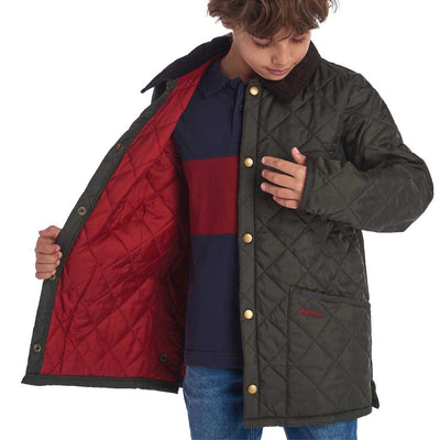 Barbour Boy's Liddesdale Jacket-CHILDRENS CLOTHING-Kevin's Fine Outdoor Gear & Apparel
