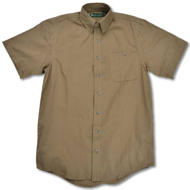 Kevin's Feather-Weight Plantation Short Sleeve Field Shirt-MENS CLOTHING-KHAKI-2XL-Kevin's Fine Outdoor Gear & Apparel
