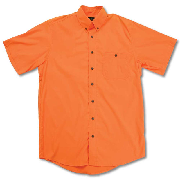 Kevin's Feather-Weight Plantation Short Sleeve Field Shirt-MENS CLOTHING-ORANGE-2XL-Kevin's Fine Outdoor Gear & Apparel