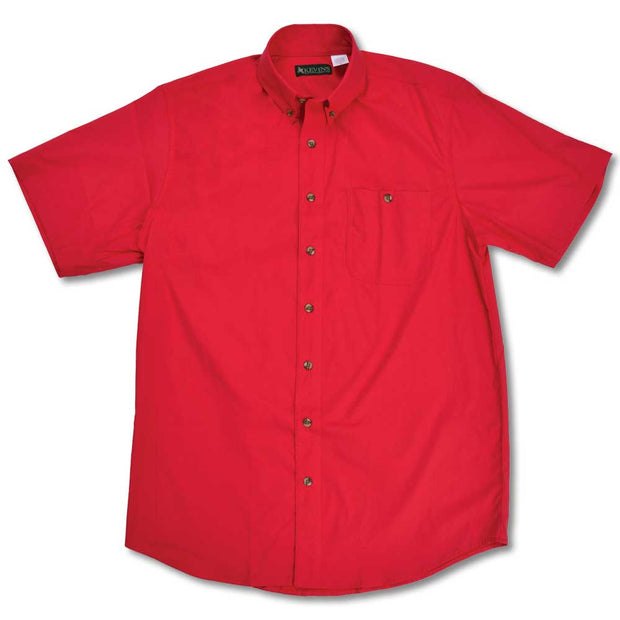 Kevin's Feather-Weight Plantation Short Sleeve Field Shirt-MENS CLOTHING-RED-2XL-Kevin's Fine Outdoor Gear & Apparel