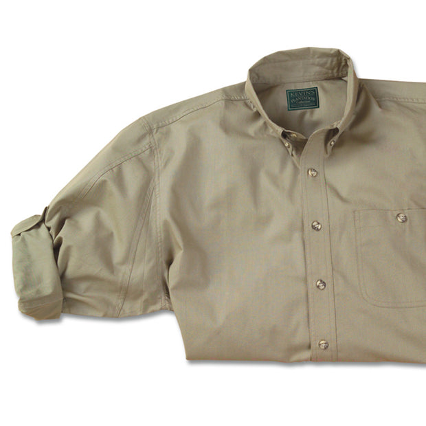 Kevin's Big And Tall Plantation Long Sleeve Field Shirt