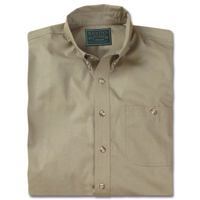 Kevin's Big and Tall Plantation Short Sleeve Field Shirt