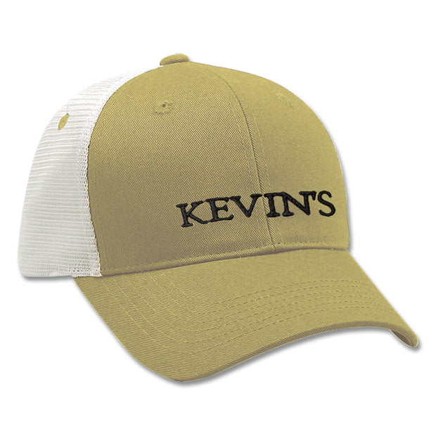 Kevin's Logo Trucker Ball Cap-MENS CLOTHING-KHAKI-Kevin's Fine Outdoor Gear & Apparel