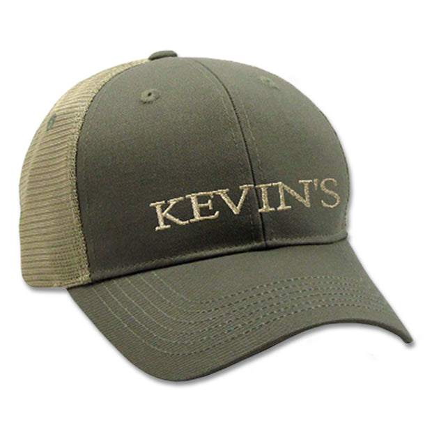 Kevin's Logo Trucker Ball Cap-MENS CLOTHING-MOSS-Kevin's Fine Outdoor Gear & Apparel