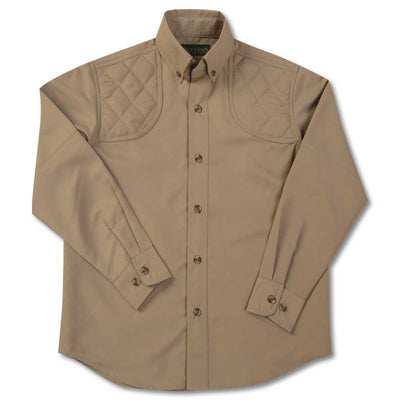 Kevin's Children's Performance Shooting Shirt-CHILDRENS CLOTHING-SOLID KHAKI-L-Kevin's Fine Outdoor Gear & Apparel