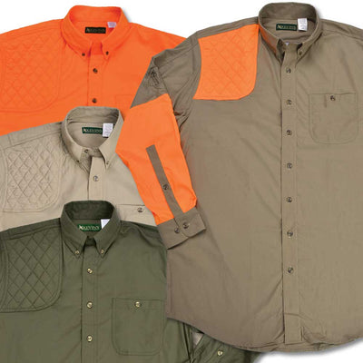 Kevin's Long Sleeve Single Right Patch Performance Shooting Shirt-HUNTING/OUTDOORS-Kevin's Fine Outdoor Gear & Apparel