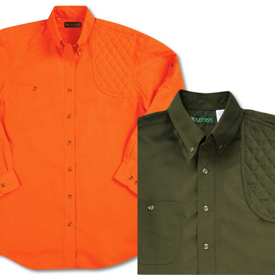 Kevin's Long Sleeve Single Left Patch Performance Shooting Shirt-HUNTING/OUTDOORS-Kevin's Fine Outdoor Gear & Apparel