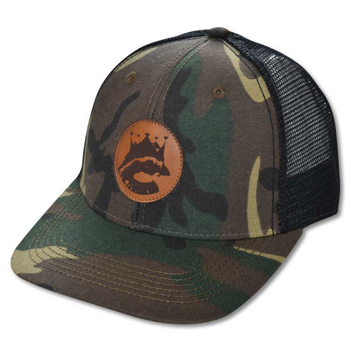 Kevin's King Bob Trucker Hat-MENS CLOTHING-ARMY CAMO-Kevin's Fine Outdoor Gear & Apparel