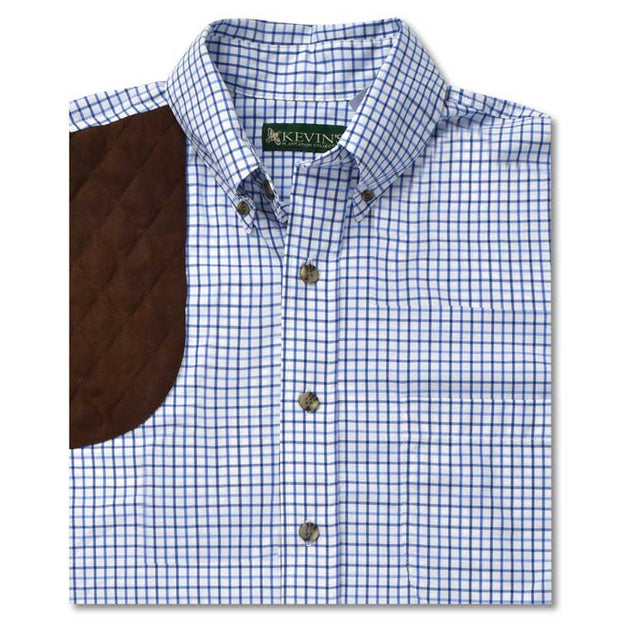 Kevin's Performance Short Sleeve Shooting Tattersall Shirt