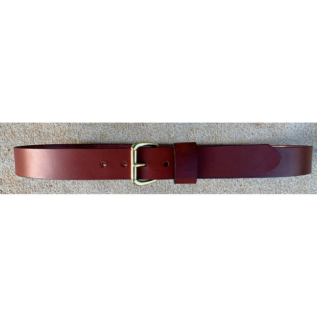 Kevin's Genuine 1.5 Inch Wide Chestnut Leather Belt-Kevin's Fine Outdoor Gear & Apparel-Kevin's Fine Outdoor Gear & Apparel
