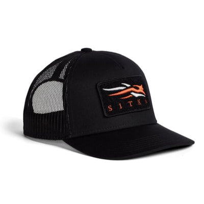 Sitka VP Icon Mid Pro Trucker Cap-Men's Accessories-Sitka Black-Kevin's Fine Outdoor Gear & Apparel