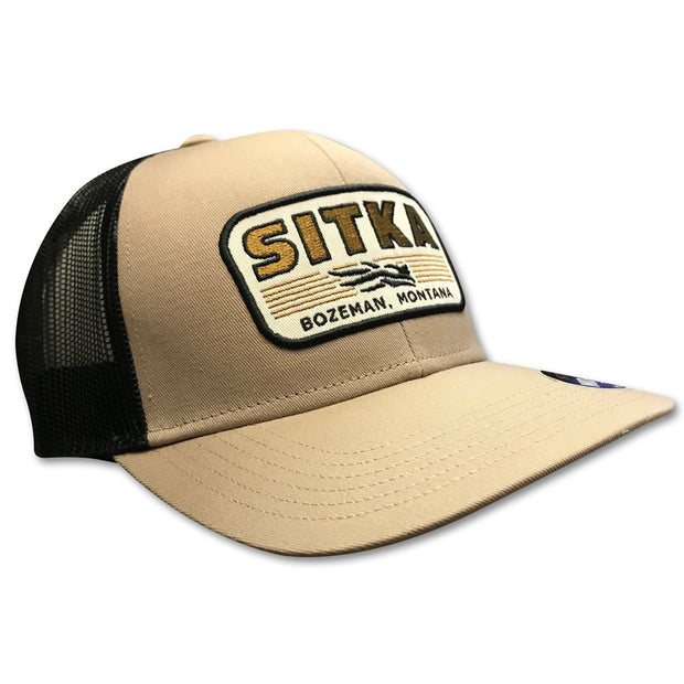 Sitka Banded Mid Pro Trucker Cap-Men's Accessories-Sandstone-Kevin's Fine Outdoor Gear & Apparel