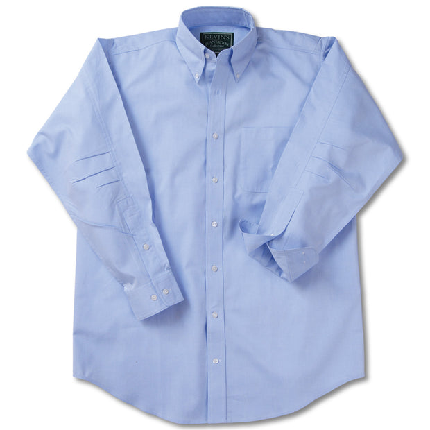 Kevin's Ergonometric Egyptian Cotton Shirts-MENS CLOTHING-BLUE-2XL-Kevin's Fine Outdoor Gear & Apparel