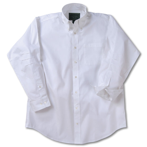 Kevin's Ergonometric Egyptian Cotton Shirts-MENS CLOTHING-WHITE-L-Kevin's Fine Outdoor Gear & Apparel