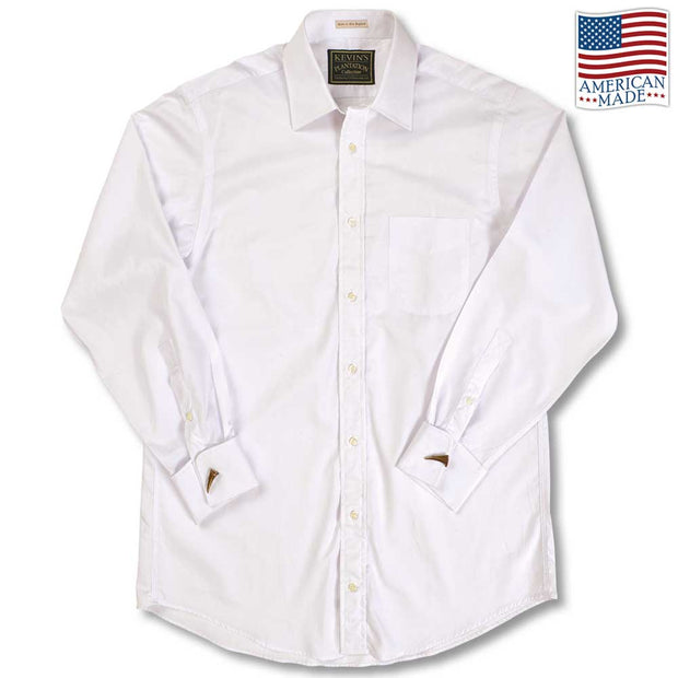 Luxury Long Sleeve French Cuff Dress Shirt