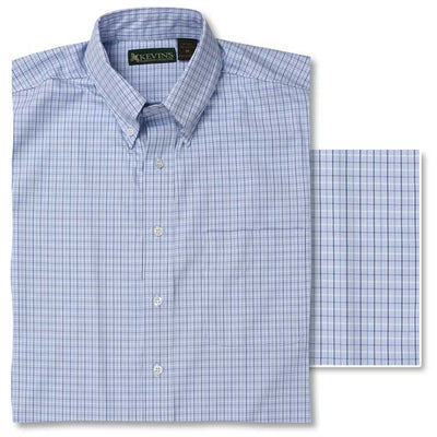 Kevin's Big & Tall Ergonometric Egyptian Cotton Shirt