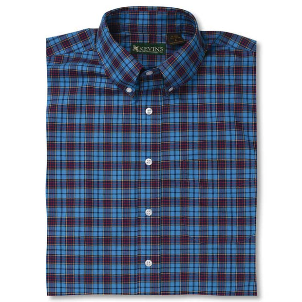 Kevin's NAVY SEAL Tartan Dress Shirt