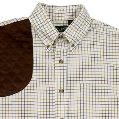 Kevin's Big & Tall Performance Tattersall Right Hand Shooting Shirt