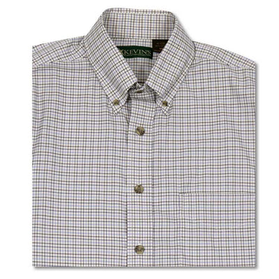 Kevin's Tattersall Big & Tall Dress Shirt