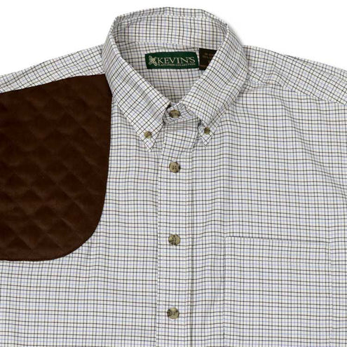 Kevin's Big and Tall Performance Tattersall Shooting Shirt