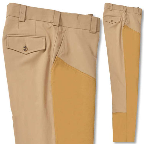 Kevin's Stretch Poplin Briar Pant-MENS CLOTHING-Berle Manufacturing-KHAKI-32-UNHEMMED-Kevin's Fine Outdoor Gear & Apparel