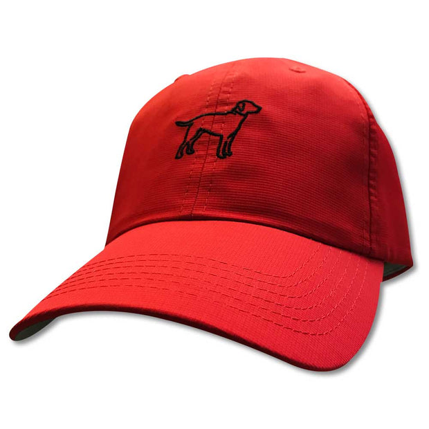 Kevin's Lab Logo Performance Cap-MENS CLOTHING-Imperial Headwear, Inc.-RED PEPPER-Kevin's Fine Outdoor Gear & Apparel