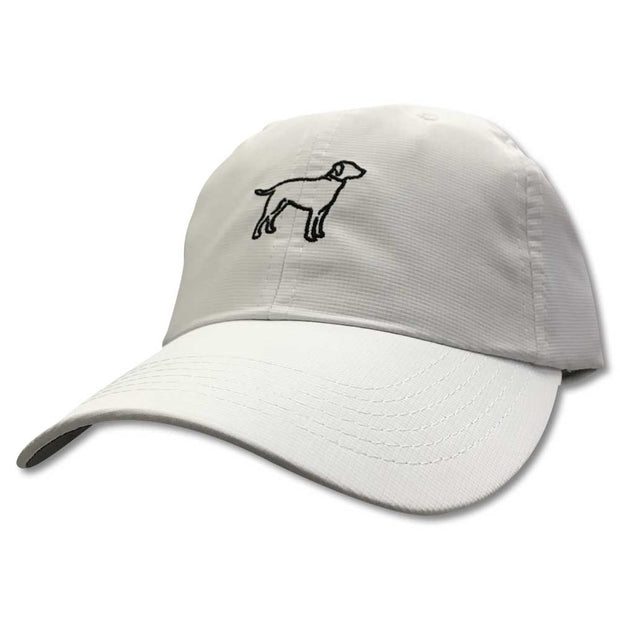 Kevin's Lab Logo Performance Cap-MENS CLOTHING-Imperial Headwear, Inc.-WHITE-Kevin's Fine Outdoor Gear & Apparel