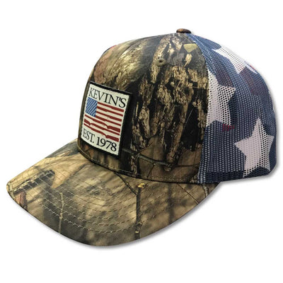 Kevin's Gun Flag Hat-Men's Accessories-BREAKUPCOUNTRY-Kevin's Fine Outdoor Gear & Apparel