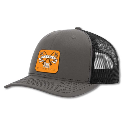 Kevin's Richardson Gun Room Cap-Men's Accessories-CHARCOAL/BLACK-Kevin's Fine Outdoor Gear & Apparel