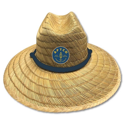 AFTCO Westside Straw Hat-Men's Accessories-Kevin's Fine Outdoor Gear & Apparel