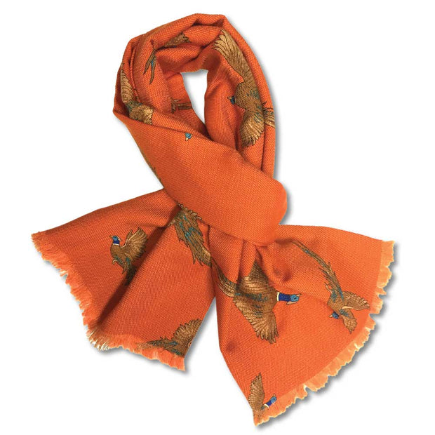Kevin's Pheasant Hunt Scarf-WOMENS CLOTHING-ORANGE-Kevin's Fine Outdoor Gear & Apparel