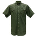Kevin's Short Sleeve Right Patch Wingshooting Shirtin Green