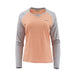 Simms Ladies Solarflex Long Sleeve Crewneck-WOMENS CLOTHING-Simms Fishing Products-Sorbet Sterling-XS-Kevin's Fine Outdoor Gear & Apparel