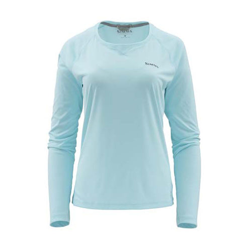 Simms Ladies Solarflex Long Sleeve Crewneck-WOMENS CLOTHING-Simms Fishing Products-Sea Breeze-SMALL-Kevin's Fine Outdoor Gear & Apparel