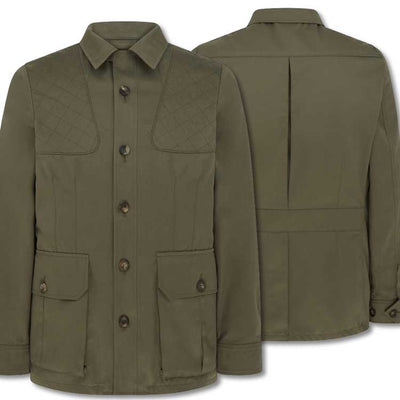 William & Son Men's Cotton Safari Jacket