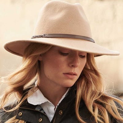 Barbour Women's Tack Fedora-Women's Accessories-Kevin's Fine Outdoor Gear & Apparel