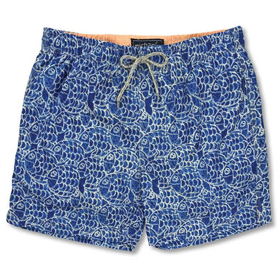 Royal Men's Swim Trunk  Fish