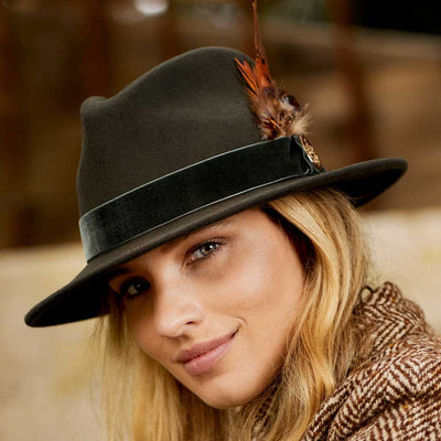 Hicks & Brown Chelsworth Fedora-WOMENS CLOTHING-Kevin's Fine Outdoor Gear & Apparel