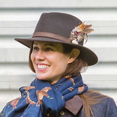 The Suffolk Fedora-Women's Accessories-Kevin's Fine Outdoor Gear & Apparel