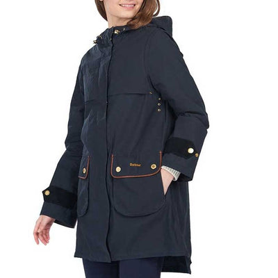 Barbour Women's Re-Engineered Durham Showerproof Jacket-WOMENS CLOTHING-Kevin's Fine Outdoor Gear & Apparel