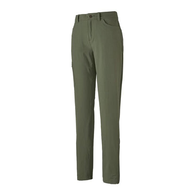 Patagonia Ladies Skyline Traveler Pants-WOMENS CLOTHING-PATAGONIA, INC.-Kale Green-0-Kevin's Fine Outdoor Gear & Apparel