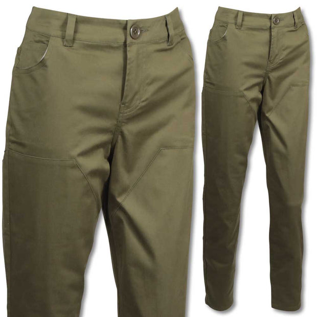 Kevin's Huntress Stretch Briar Pant-WOMENS CLOTHING-LIGHT OLIVE-0-Kevin's Fine Outdoor Gear & Apparel