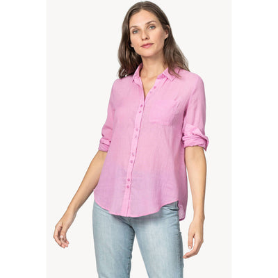 Lilla P Long Sleeve Button Down Top-WOMENS CLOTHING-Kevin's Fine Outdoor Gear & Apparel