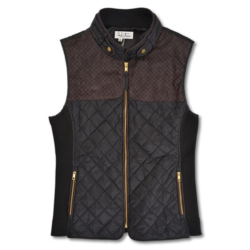 Kevin's Huntress Quilted Vest-WOMENS CLOTHING-BLACK-2XL-Kevin's Fine Outdoor Gear & Apparel