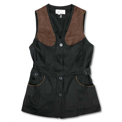 Kevin's Huntress Field Vest-WOMENS CLOTHING-BLACK-L-Kevin's Fine Outdoor Gear & Apparel