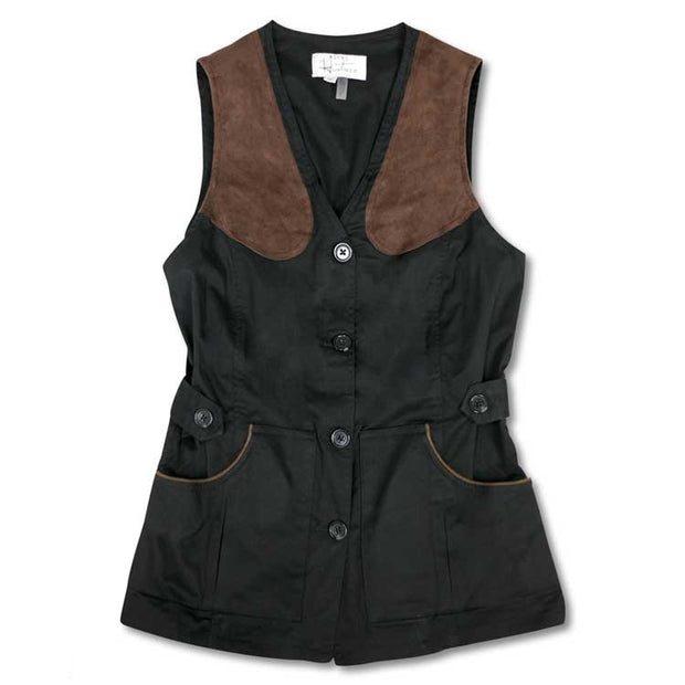 Kevin's Huntress Field Vest in Black