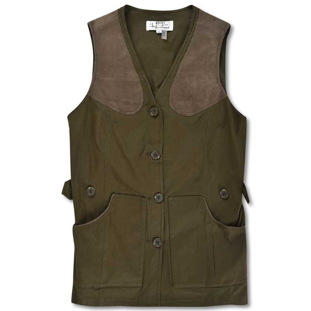 Kevin's Huntress Field Vest in Olive